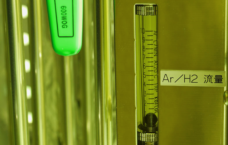 再生用Ar/H2流量計
